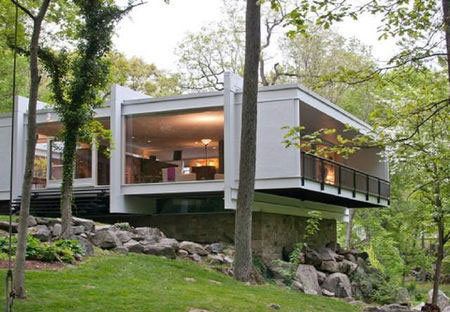 midcenturymodernhudsonvalley on modern split level floor plans